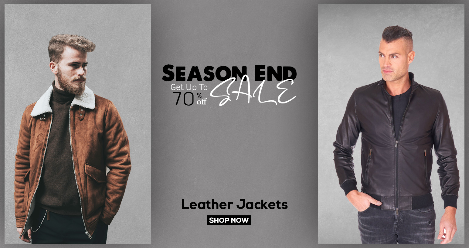 Sham&Jazzy Leather Jackets